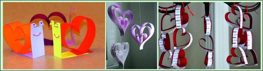 Как сделать подарок на День святого Валентина своими руками - сердце из бумаги