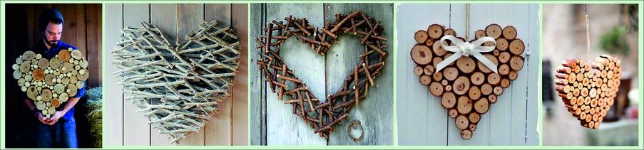 Как сделать подарок на День святого Валентина своими руками - сердце из дерева