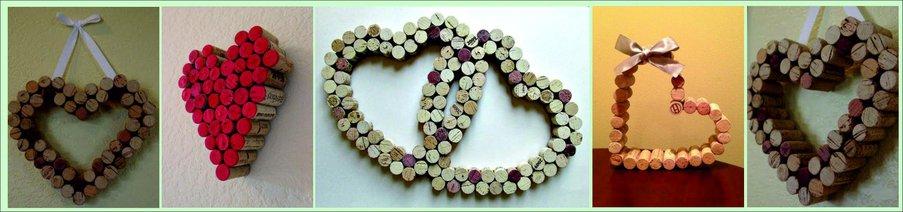 Как сделать подарок на День святого Валентина своими руками - сердце из винных пробок