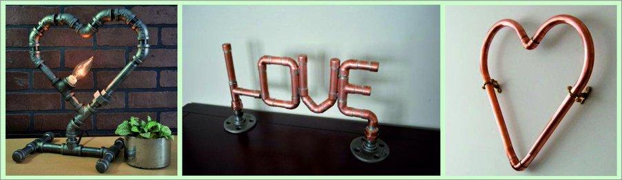 Как сделать подарок на День святого Валентина своими руками - сердце из труб